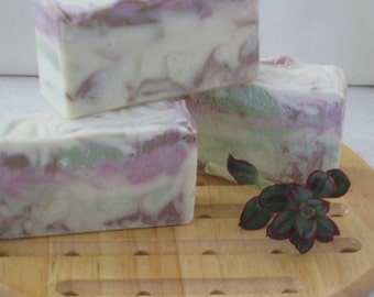 Blackberry Sage Handcrafted Soap