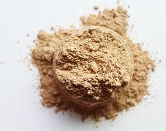 Mineral Foundation - Medium Beige - Matte Finish Mineral Makeup - Non Comedogenic - Vegan Friendly Foundation