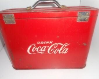 Vintage Coke, Airline Cooler, Coca Cola Cooler