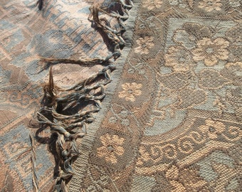 "Traditional Antique Dutch Kashmer Paisley ...Excellent Condition...46"" by 49"" Free Shipping"