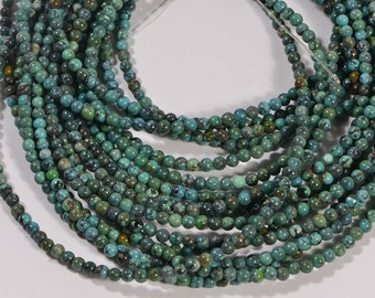 Turquoise Full Strand Beads 2.8mm Natural Gemstone Beads Jewelry Making Supplies