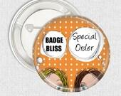 Special order - Bride cotton tote bag - printed bag