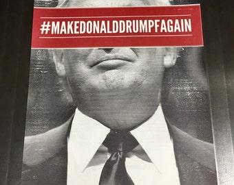 MakeDonaldDrumpfAgain Poster - 2-color offset print