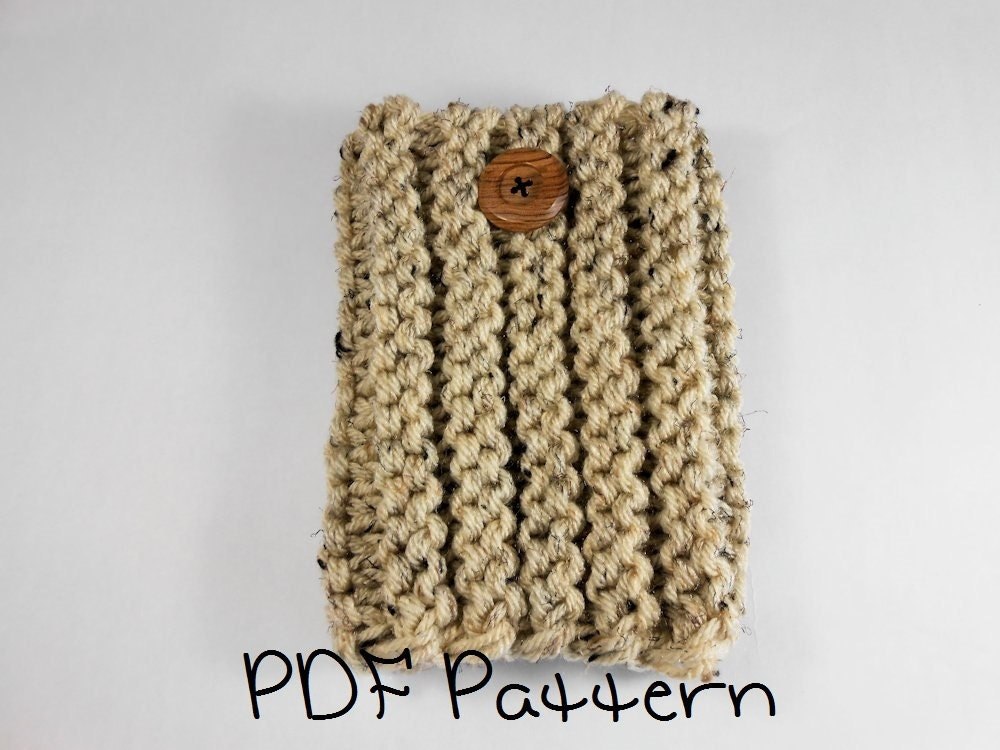 Boot Cuff Knitting Pattern Beginner Ribbed Cuff Pattern Quick