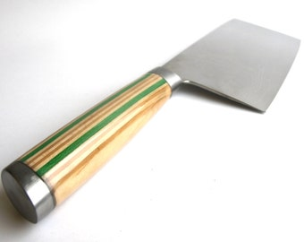 Chopping Knife - Recycled Skateboard Handle - Made in Canada