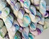 classic {sock} | LUNA | ready to ship | hand dyed yarn | merino nylon