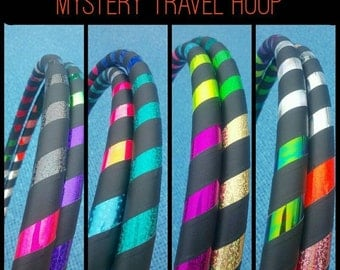 15% OFF MySteRy Collapsible Hula Hoop // Custom // Made to Order // ANY size // ANY Tubing // Recycle // Upcycle // Surprise