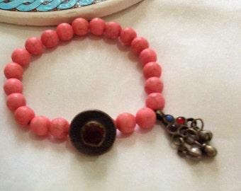 KUCHI bracelet, tribal bracelet , bohemian bracelet , gypsy bracelet , nomad bracelet , indie bracelet