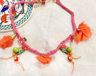 SALE --Pink GODDESS Necklace