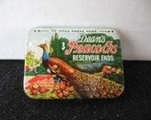 Vintage Dean's Peacocks Condoms Tin