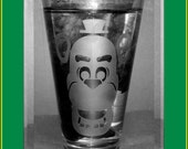 Freddy - Five Nights at Freddy's - etched pint glass