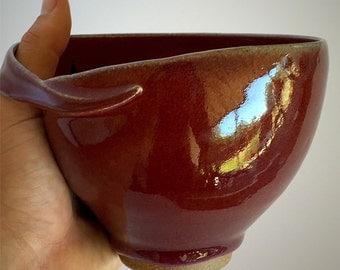 Red Ergonomic Bowl
