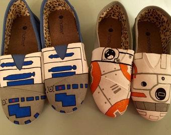 Custom Star Wars Shoes