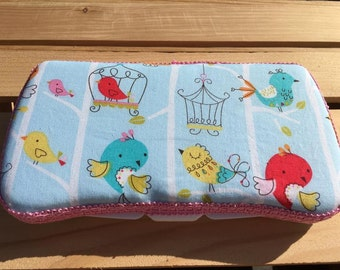 Baby Wipes Case, Travel Wipes Case, Birds Wipes Case, Wipes Case