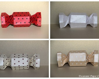 Polka Dots Candy Box - Origami - Paper Decoration