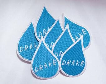 Drake Tear Drop Patch