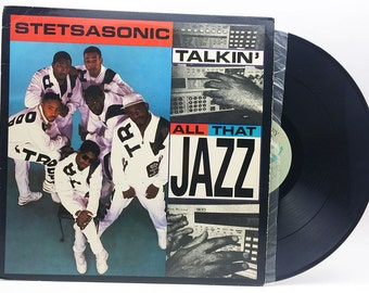"Stetsasonic: Talkin' All That Jazz  Vinyl 12"" Single Rap Vinyl Record Vintage"