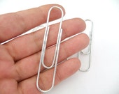 Wire Clips, Paper clips, Huge paper clips, Metal clips, Long Wire Clips, Long Paper Clips, Metal Paper Clips, wire clips, spiral paper clips