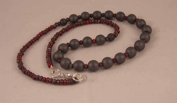 Red Hematite Beads Coral Red Trave...