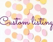 Ghirlande decorative con cerchi in cartoncino rosa e oro