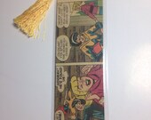 Upcycled Archie's Betty & Veronica Comic Book Bookmark