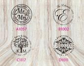 Round Address Stamps