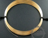 50cm 28gauge 0.33mm half hard 14K gold filled high quality color not tarnished beading jewelry wire supplies findings 1505001