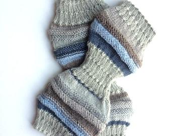 Yoga Hipster Socks, Handknit Yoga Socks, Pilates, PiYo, Dance Socks, Pedicure Socks, Yoga Socks, Boho Socks, Hipster Socks, MADE TO ORDER