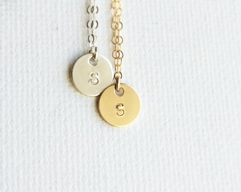 Celebrity style / Initial Necklace /Personalized Initial Necklace /Tiny Initial Necklace /Monogram Necklace/Everyday Wear/Personalized Gift