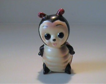 Vintage Josef Originals miniature ceramic ladybug