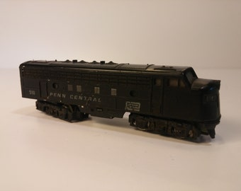 Vintage TRIX N-Scale Locomotive - PENN CENTRAL 510 - used but not abused, untested - made in Western Germany