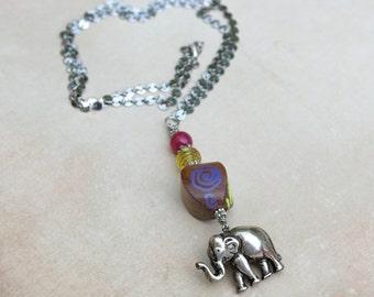 Necklace - Walk the Elephant