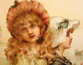 golden days & silver eves.c 1880 Raphael Tuck,16 stunning chromo plates-maude Goodman