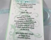 45 Quinceanera Invitations - Custom order for nessaah930