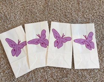 Butterfly Party Bags, Butterfly Goody Bags