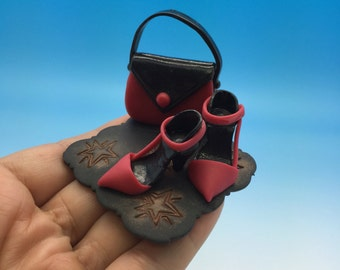 Handmade shoes collectable miniature