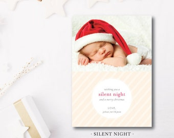 Silent Night Holiday Cards