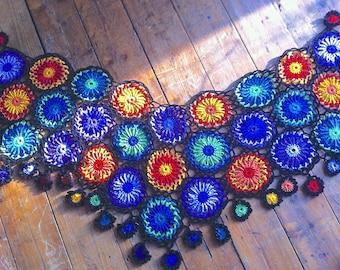 catherine wheel  shawl pattern