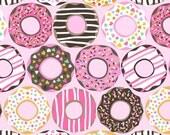 Maude Asbury - Lolly - Doughnut Love - Pink (101.122.01.1) Blend Fabrics - 1 yard