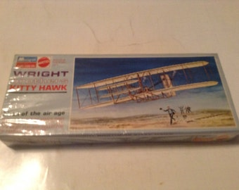 wright brothers kitty hawk model kit birth of the air age