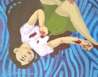 Painting #1 - Dead Girls are No Fun