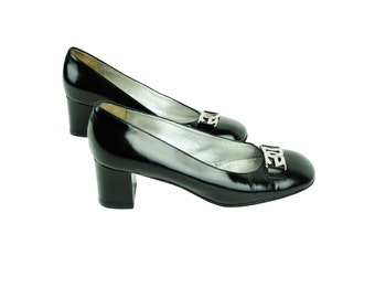 DOLCE & GABANNA Patent Leather Pumps