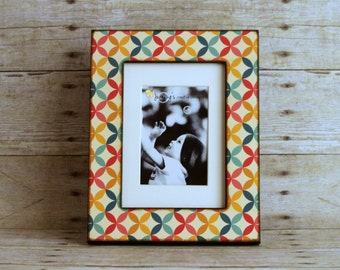 Multi wood frame etsy for Cadre multi photos mural