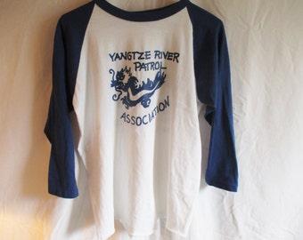 Vintage 1980s Baseball Shirt Vintage Bantams Made in USA