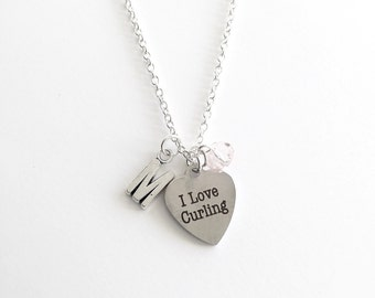 Personalized Curling Necklace