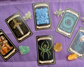 SEER'S FAN Madame Endora's Fortune Cards Reading - Oracle, Divination