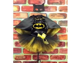 Batgirl tutu costume, Batman tutu, Batman birthday tutu, Super hero Birthday, batgirl tutu
