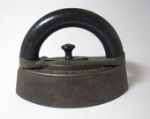 Antique Cast Iron & Wood Iron from the 1920's