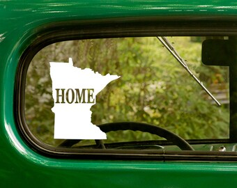 Minnesota Decal, Car Decal, State Sticker, Laptop Sticker, Minnesota  Sticker, Bumper sticker, Vinyl Decal, Car Stickers