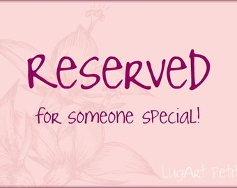 RESERVED FOR SUSAN-----------------A Little bear (pink/yellow) and four aprons